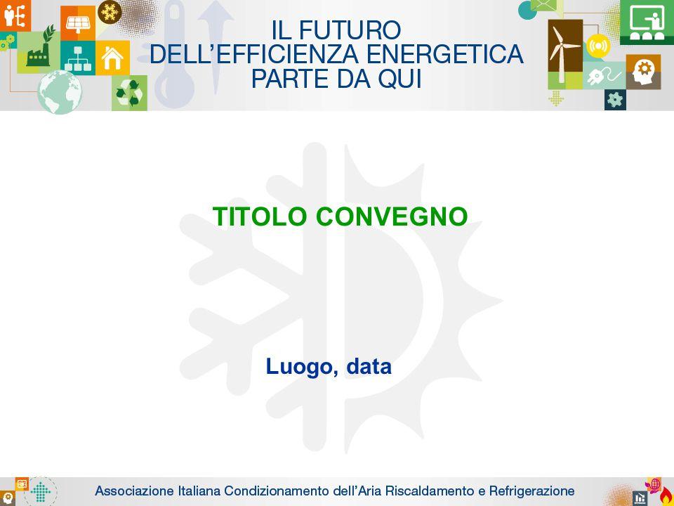 TITOLO CONVEGNO Luogo, data