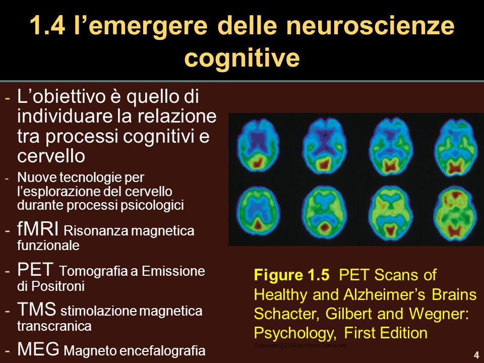 1.4 l'emergere delle neuroscienze cognitive