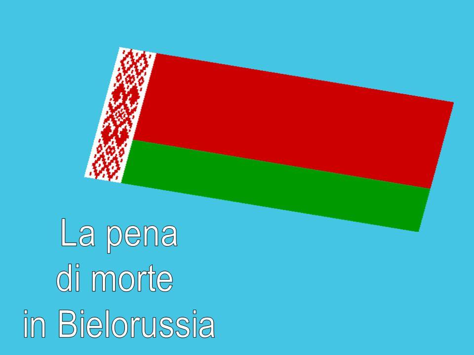 La pena di morte in Bielorussia