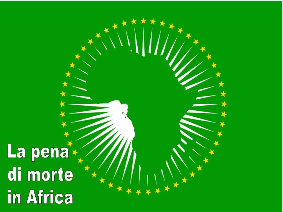 La pena di morte in Africa