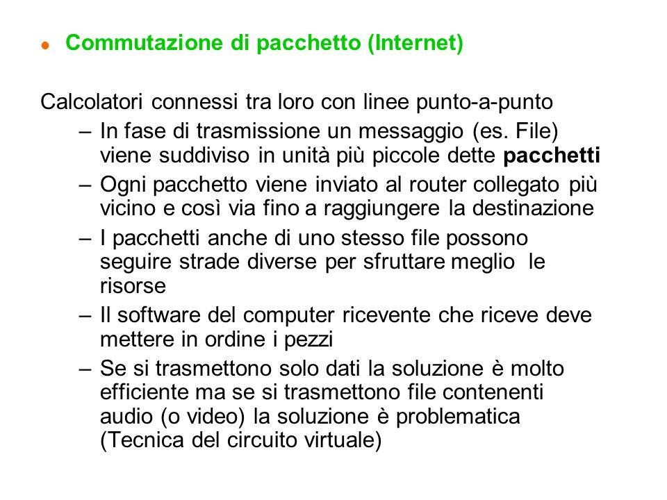 Commutazione di pacchetto (Internet)