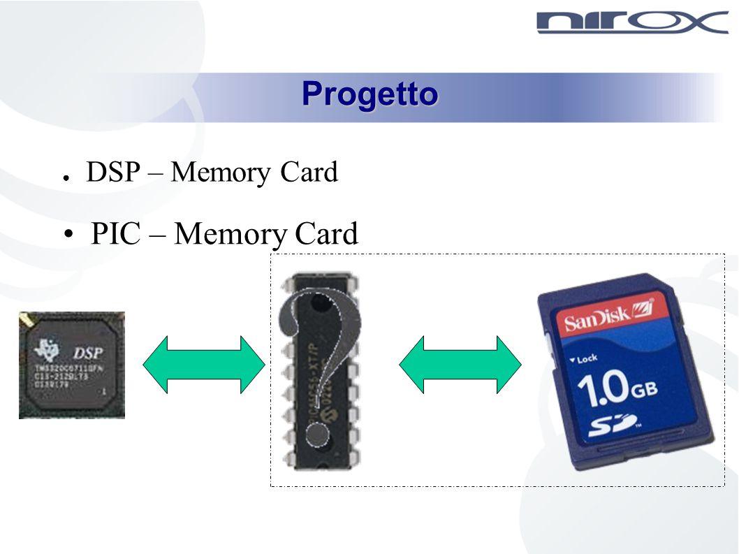 Progetto DSP – Memory Card PIC – Memory Card