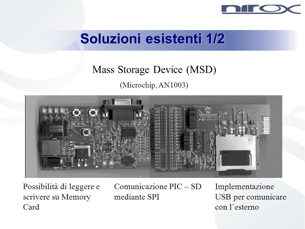 Mass Storage Device (MSD)