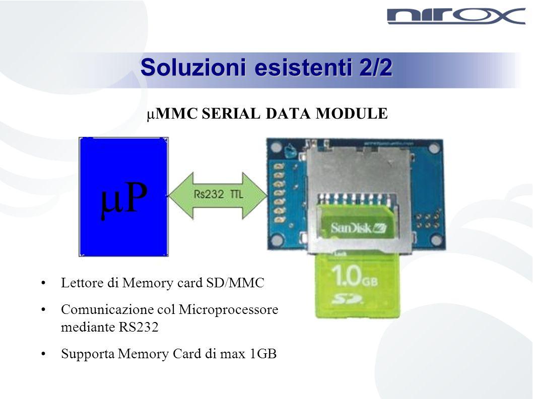 µMMC SERIAL DATA MODULE