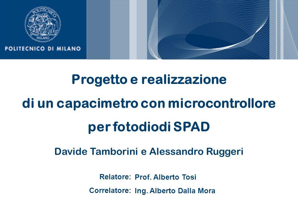Progetto e realizzazione di un capacimetro con microcontrollore