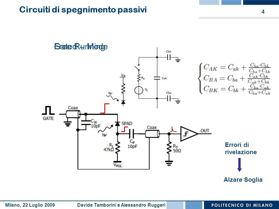 Circuiti di spegnimento passivi