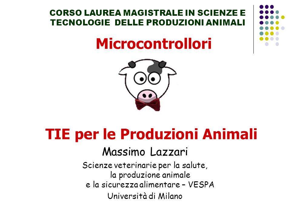 TIE per le Produzioni Animali