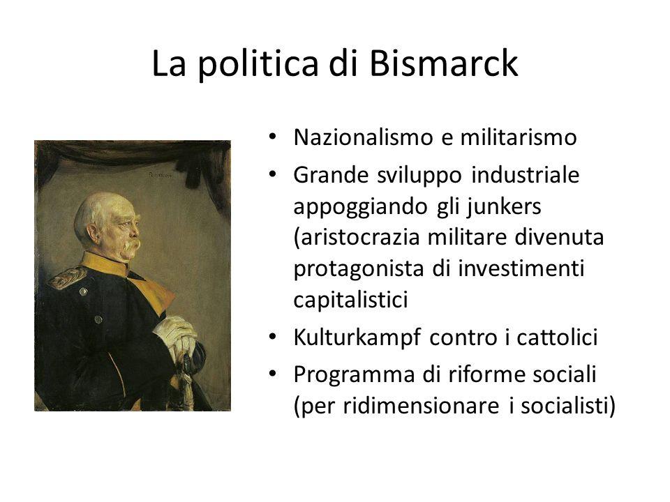 La politica di Bismarck