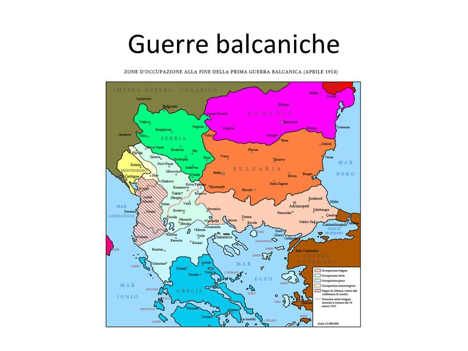 Guerre balcaniche