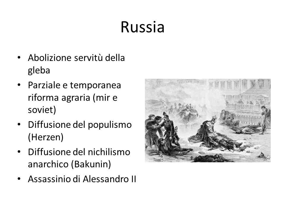 Russia Abolizione servitù della gleba