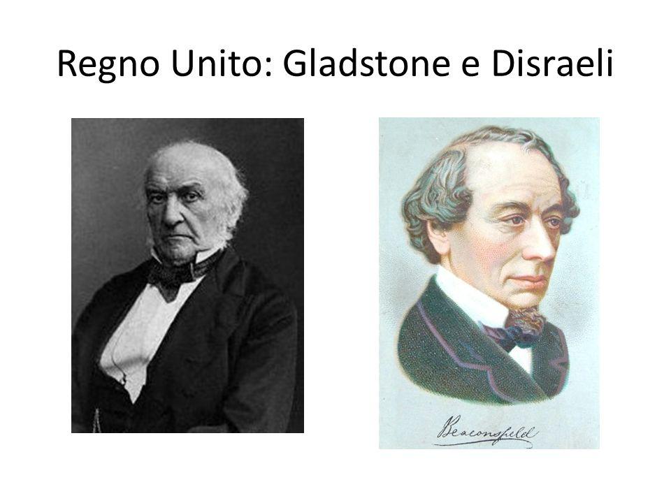 Regno Unito: Gladstone e Disraeli