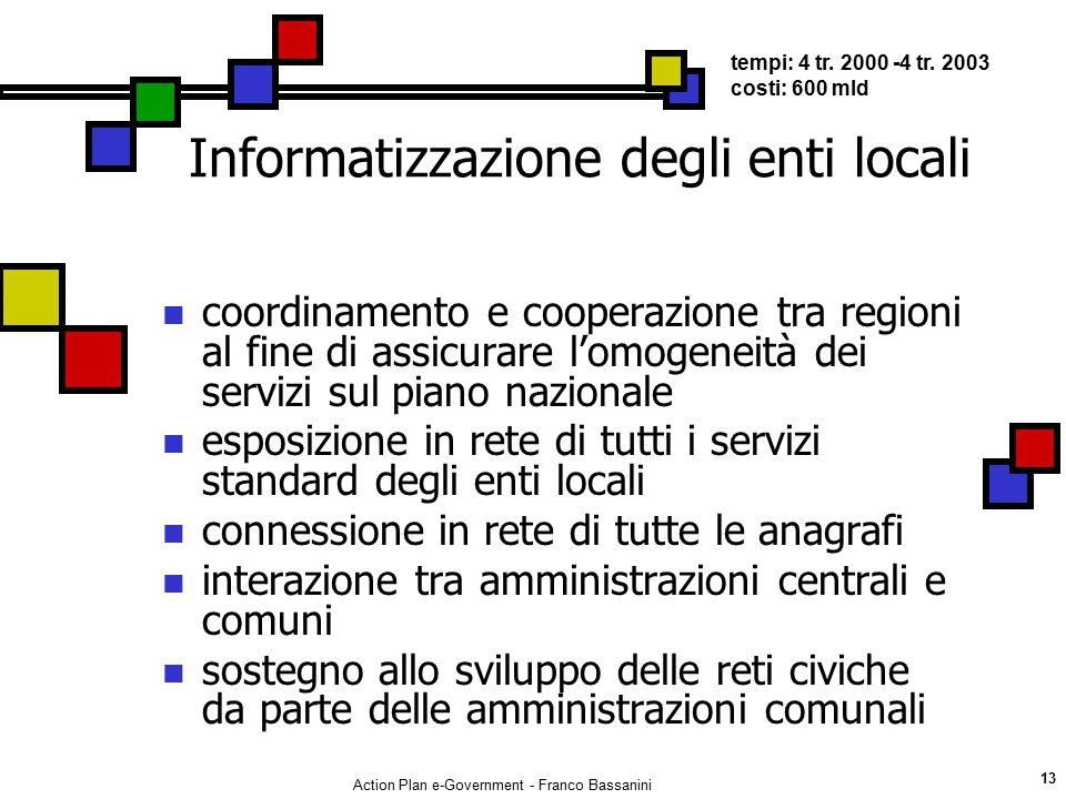 Informatizzazione degli enti locali