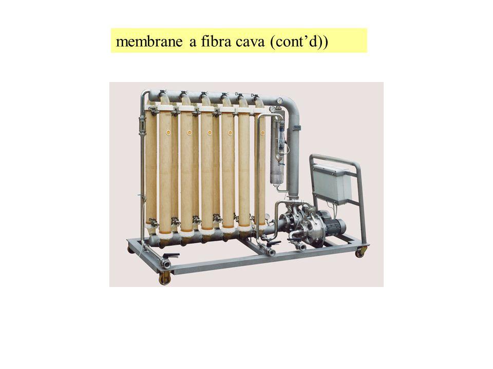 membrane a fibra cava (cont'd))