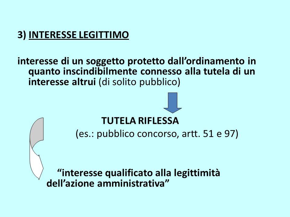 3) INTERESSE LEGITTIMO