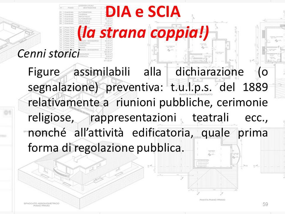 DIA e SCIA (la strana coppia!)