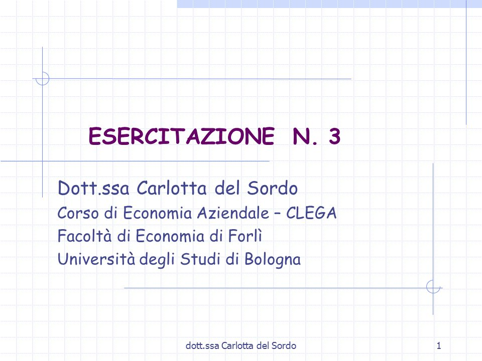 dott.ssa Carlotta del Sordo