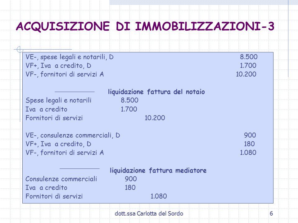 ACQUISIZIONE DI IMMOBILIZZAZIONI-3