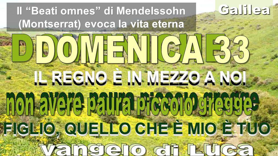 Il Beati omnes di Mendelssohn (Montserrat) evoca la vita eterna