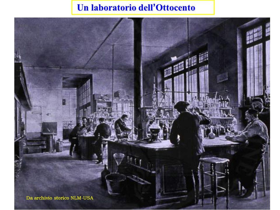 Un laboratorio dell'Ottocento