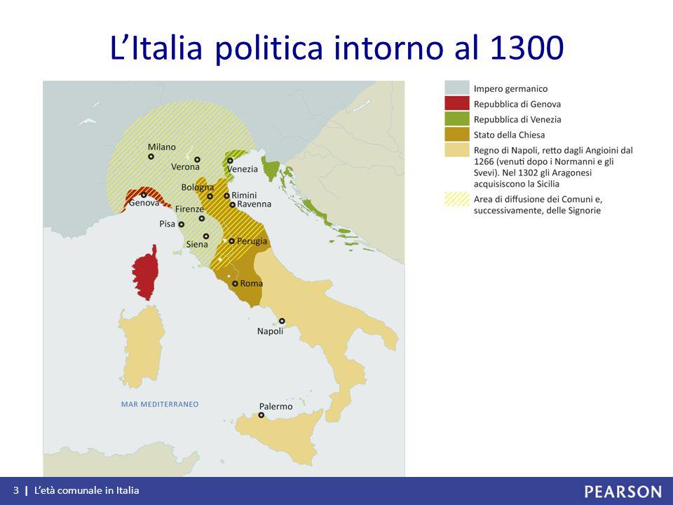 L'Italia politica intorno al 1300