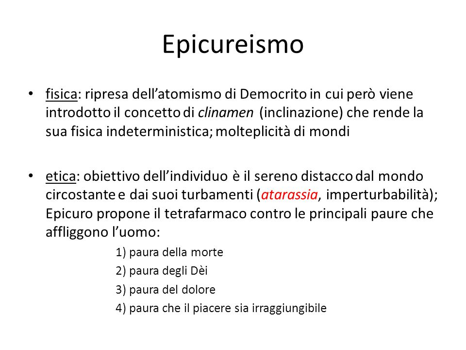 Epicureismo