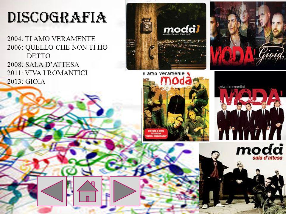 DISCOGRAFIA 2004: TI AMO VERAMENTE