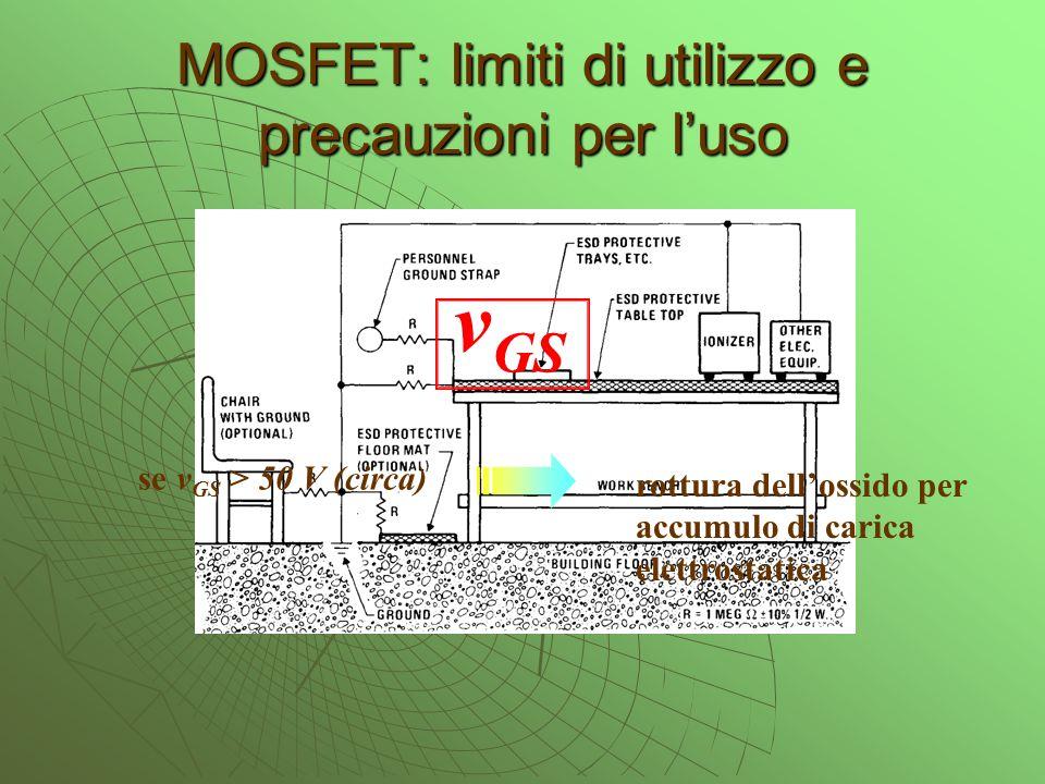 MOSFET: limiti di utilizzo e precauzioni per l'uso