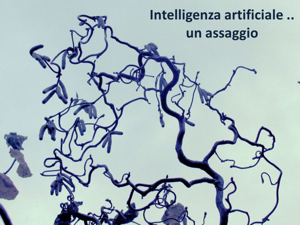Intelligenza artificiale ..