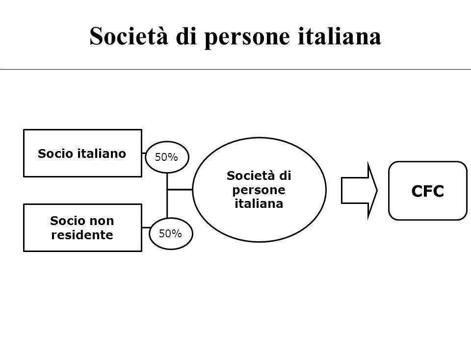 Società di persone italiana
