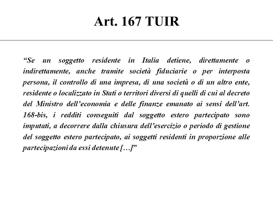 Art. 167 TUIR