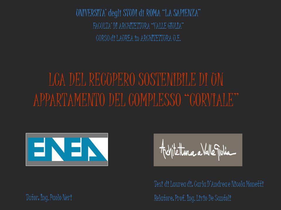 UNIVERSITA' degli STUDI di ROMA LA SAPIENZA