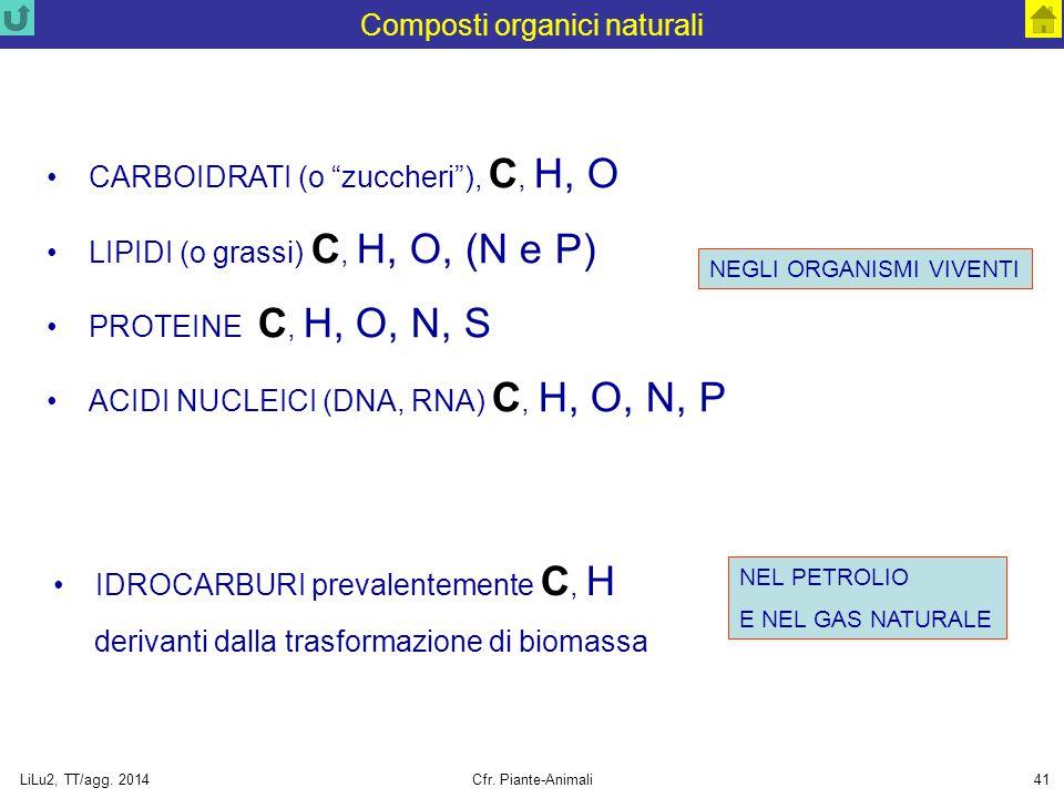 Composti organici naturali