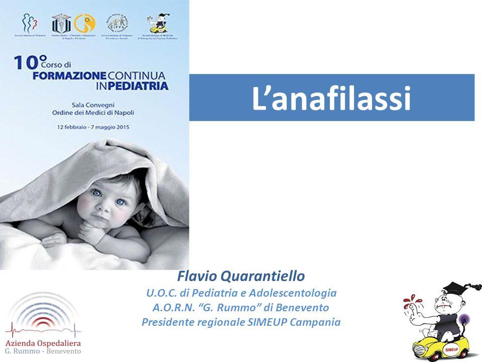 L'anafilassi Flavio Quarantiello