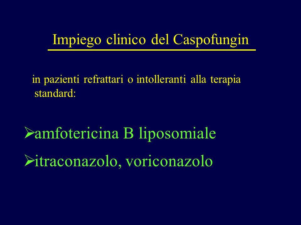 Impiego clinico del Caspofungin