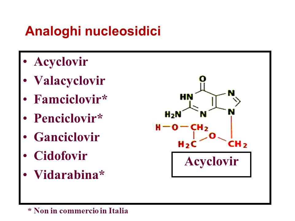 Analoghi nucleosidici