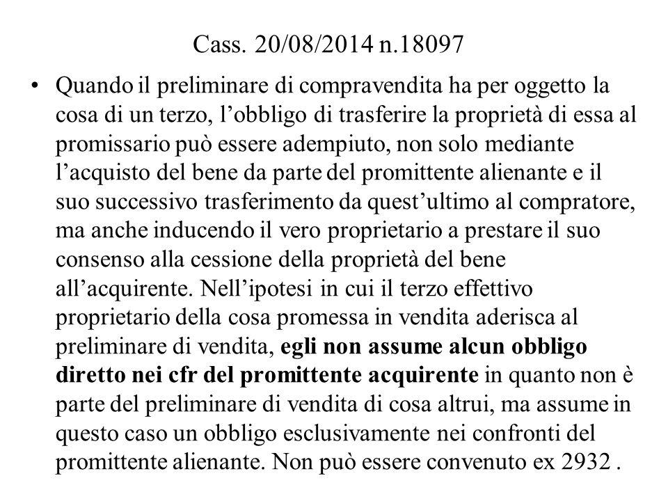 Cass. 20/08/2014 n.18097