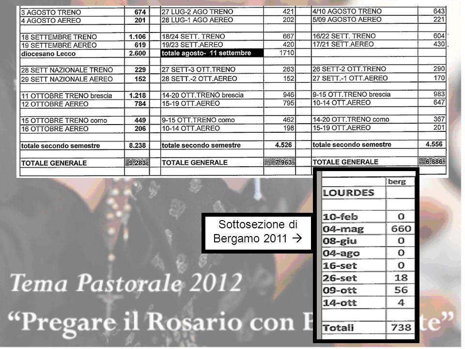 Sottosezione di Bergamo 2011 