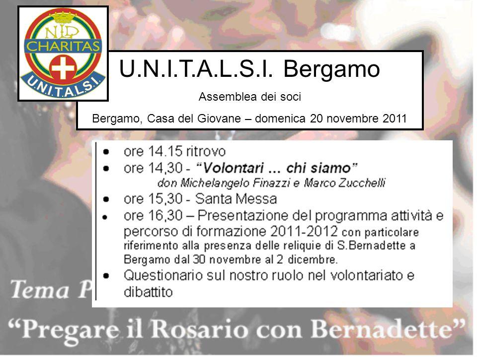 Bergamo, Casa del Giovane – domenica 20 novembre 2011
