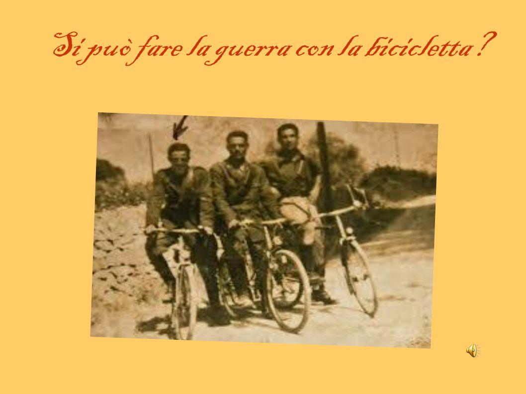 Si può fare la guerra con la bicicletta
