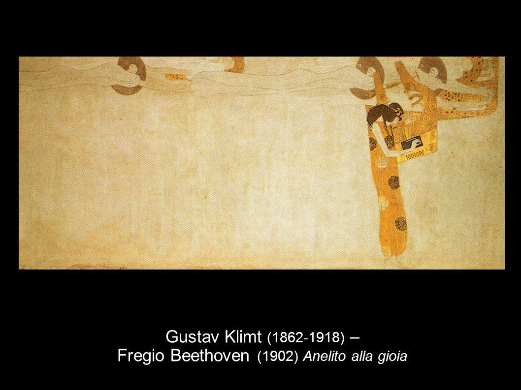 Gustav Klimt (1862-1918) – Fregio Beethoven (1902) Anelito alla gioia