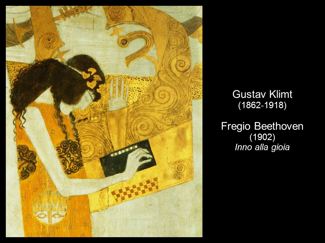 Gustav Klimt (1862-1918) Fregio Beethoven (1902) Inno alla gioia