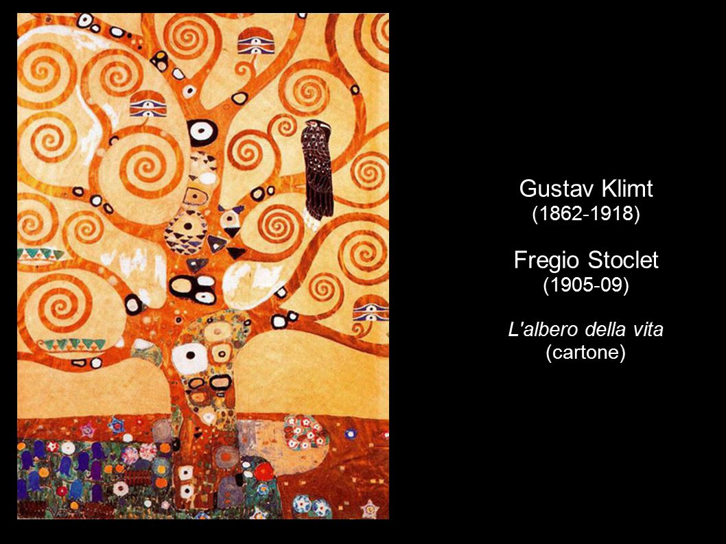 Gustav Klimt (1862-1918) Fregio Stoclet (1905-09) L albero della vita (cartone)