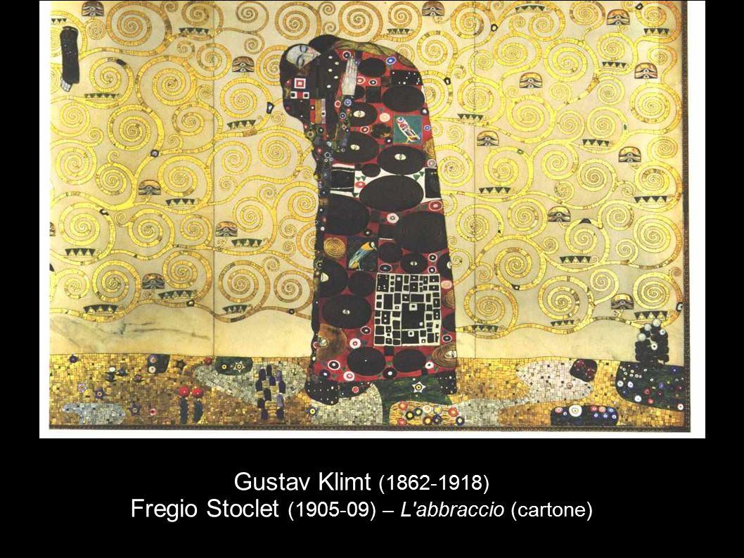 Gustav Klimt (1862-1918) Fregio Stoclet (1905-09) – L abbraccio (cartone)