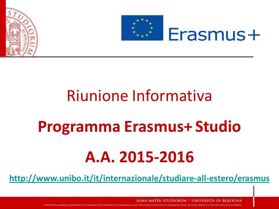 Programma Erasmus+ Studio