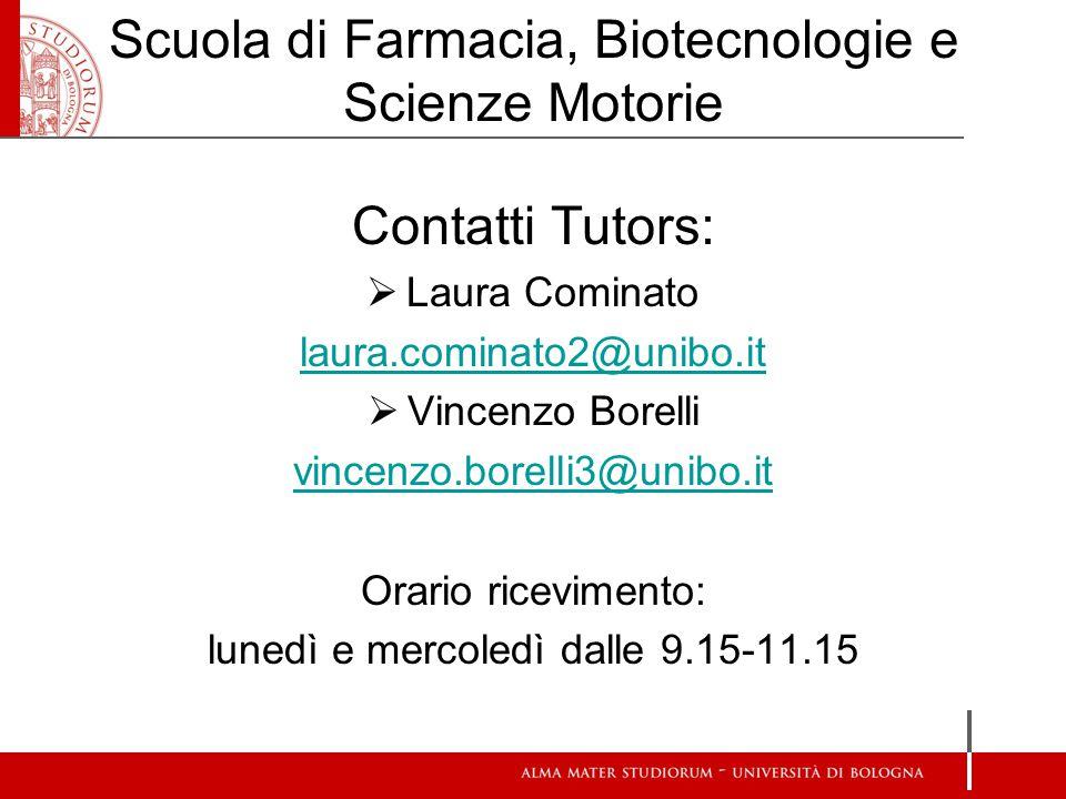Scuola di Farmacia, Biotecnologie e Scienze Motorie