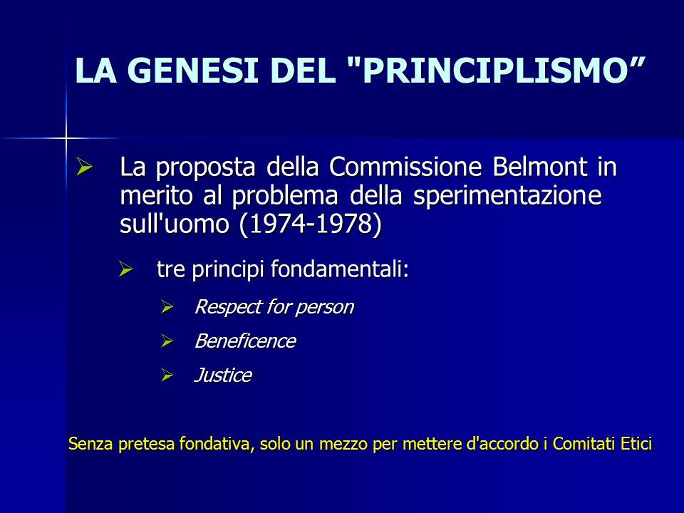 LA GENESI DEL PRINCIPLISMO