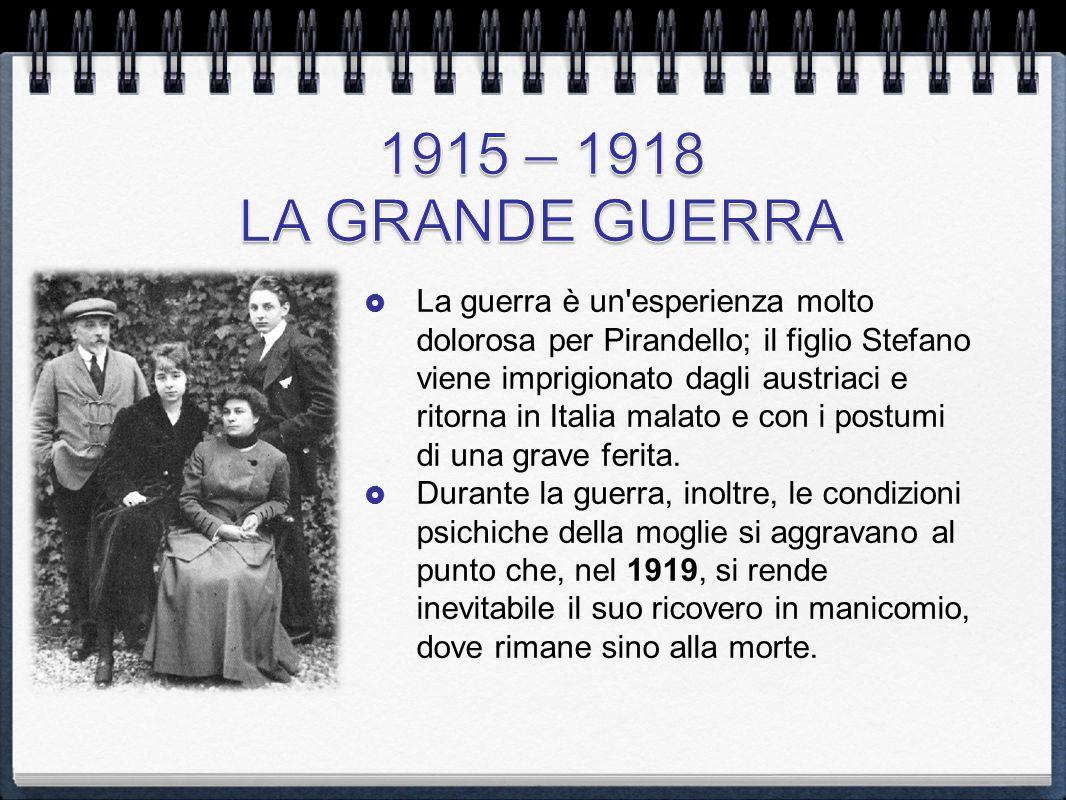 1915 – 1918 LA GRANDE GUERRA