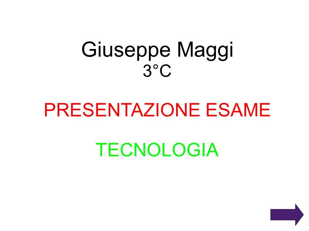 Giuseppe Maggi 3°C PRESENTAZIONE ESAME TECNOLOGIA