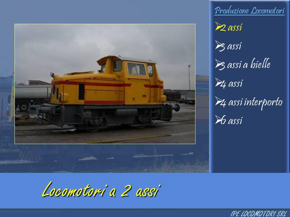 Locomotori a 2 assi 2 assi 3 assi 3 assi a bielle 4 assi
