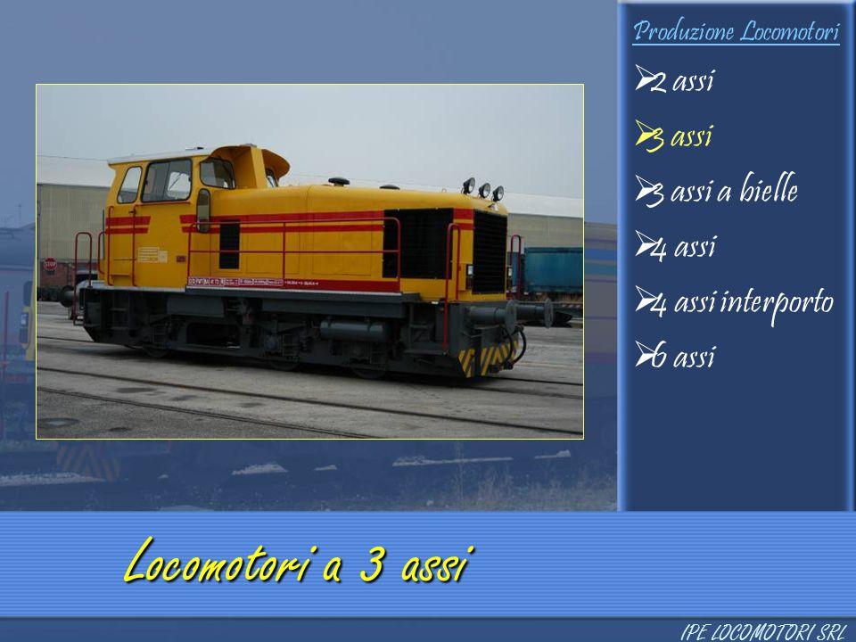 Locomotori a 3 assi 2 assi 3 assi 3 assi a bielle 4 assi